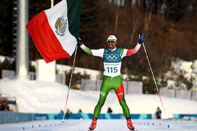 Mexicano aprendiz de esquiador compitió en Pyeongchang