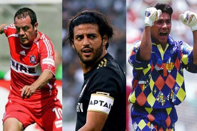 Los 4 mexicanos nominados al mejor en la historia de la MLS