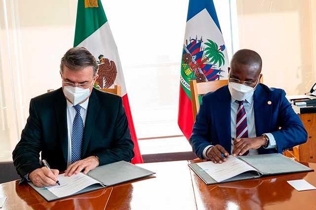 México dará 3 mil pesos a haitianos que regresen a su país