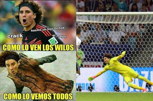 Memes tunden a México ante derrota parcial con Alemania