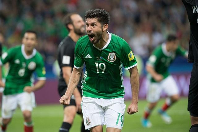 México se impone a Nueva Zelanda en la Copa Confederaciones