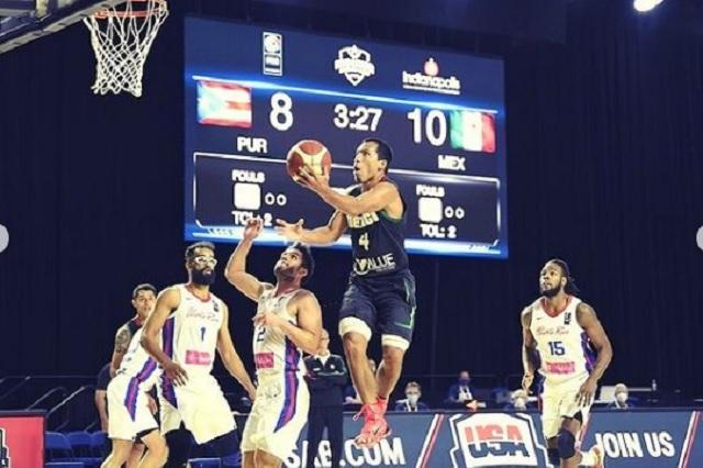 México le pasa encima a Puerto Rico en Americup 2022