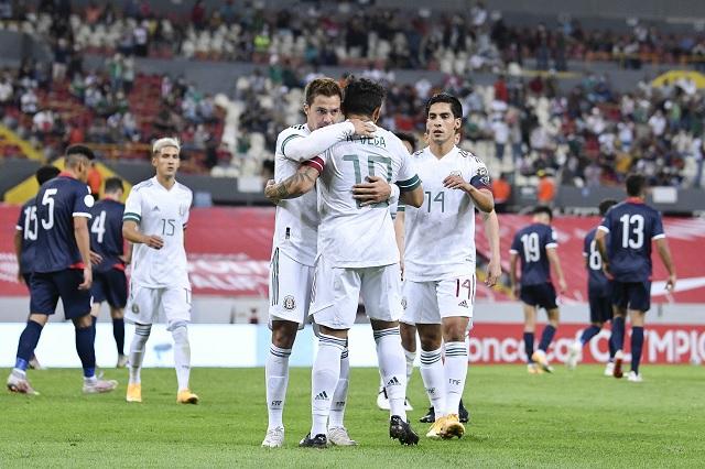 México se presenta con goleada en el Preolímpico de Concacaf