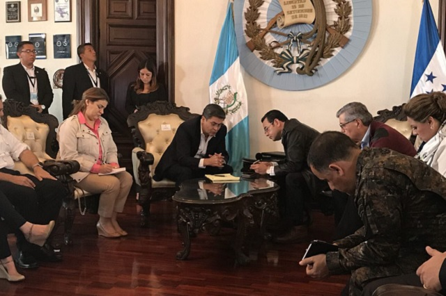 México, Honduras y Guatemala conversan para resolver crisis migratoria