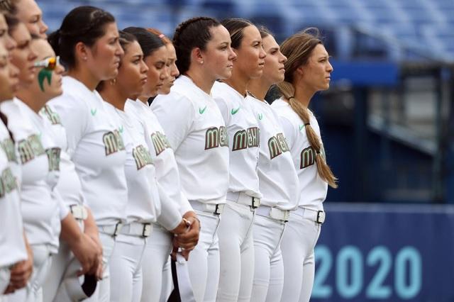Softbol mexicano acaricia el bronce en Tokio 2020