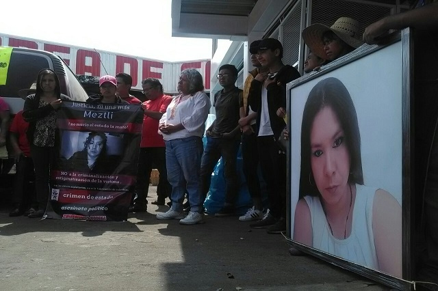 Ordenan por fin aprehensión de asesinos de Meztli Sarabia
