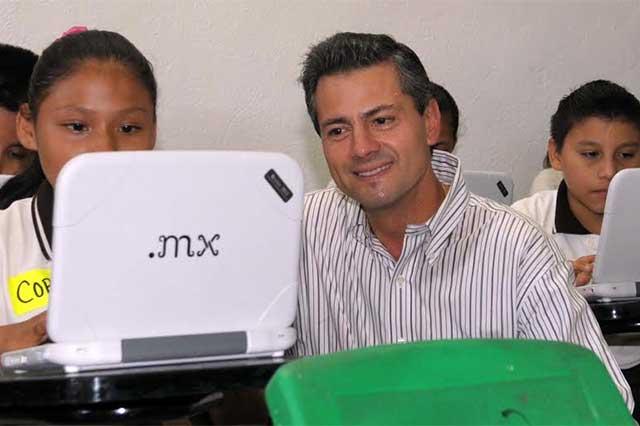 Tiró la SEP a la basura 750 mdp en el programa Mi Compu.mx