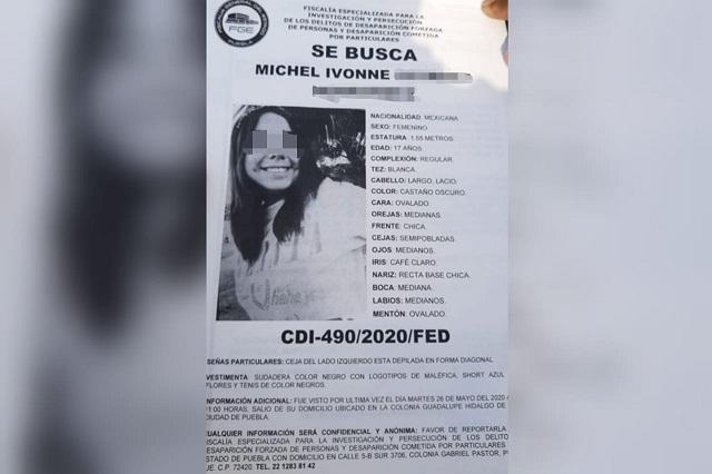 Hallan a la joven Michel, golpeada, en el sur de Puebla