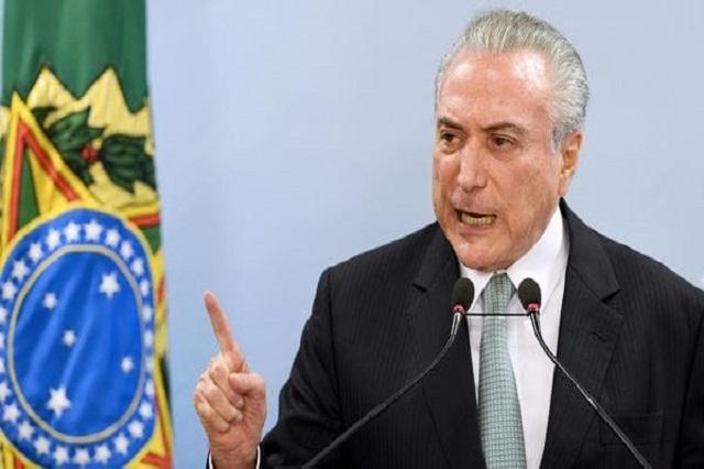 Tribunal autoriza que la policía interrogue al presidente de Brasil