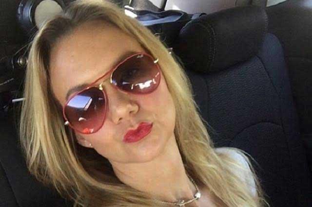Michelle Vieth impacta vehículo y no paga a afectados