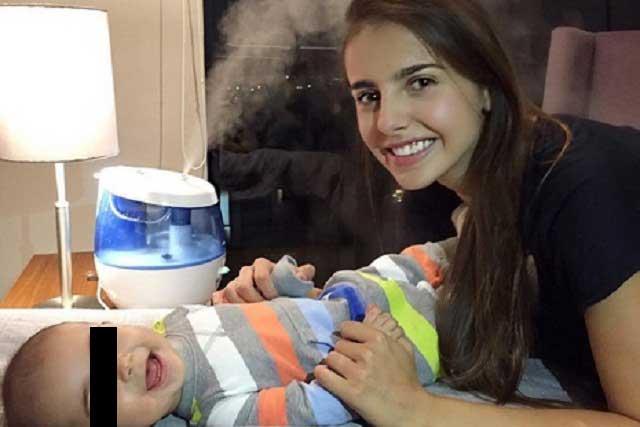 Michelle Renaud no abrirá cuentas de redes sociales a su hijo Mateo