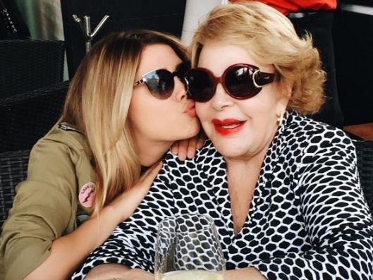 Michelle Salas dedica cariñoso mensaje de cumpleaños a su bisabuela Silvia Pinal