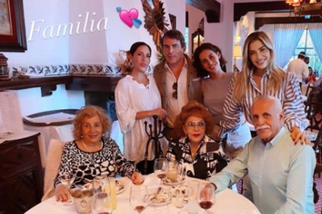 Michelle Salas presume imágenes de su reencuentro con Silvia Pinal
