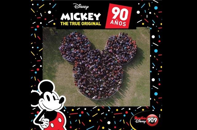 Más de 90 días de celebración por 90 años de Mickey Mouse