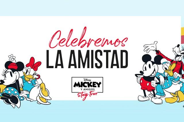 Mickey Mouse celebra la amistad con gifs y stickers