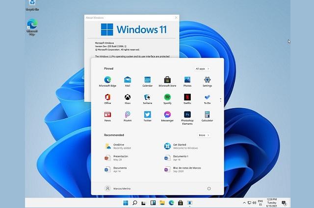 Microsoft presenta Windows 11 e incorpora apps de Android