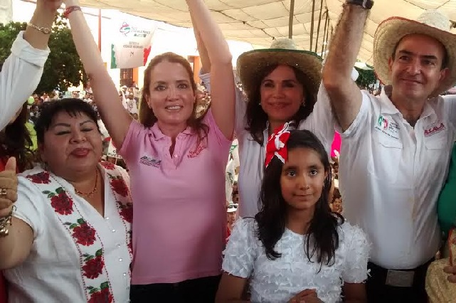 """Moreno Valle, no te tengo ni te he tenido miedo"": Blanca Alcalá"