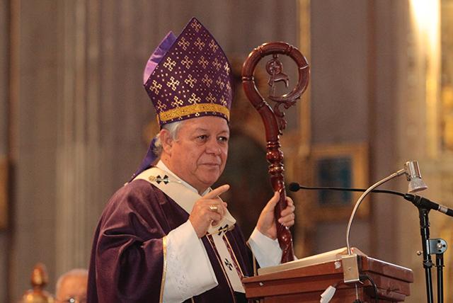 Exhorta arzobispo Sánchez a llevar en paz el próximo proceso electoral