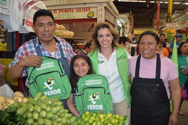Recorre Paola Migoya el Mercado Independencia y La Margarita