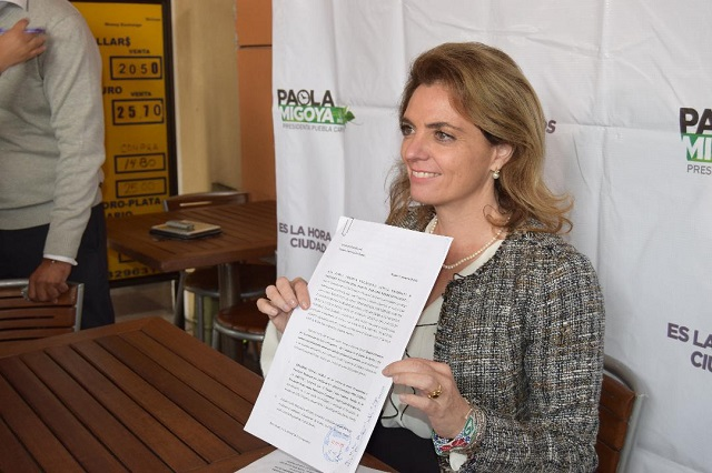 Migoya denuncia a Rivera Pérez por actos anticipados de campaña