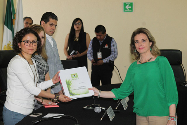 Partido Verde registra a Paola Migoya a la presidencia municipal de Puebla