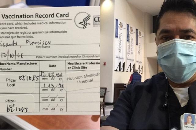 Completa inmunización migrante poblano en Houston