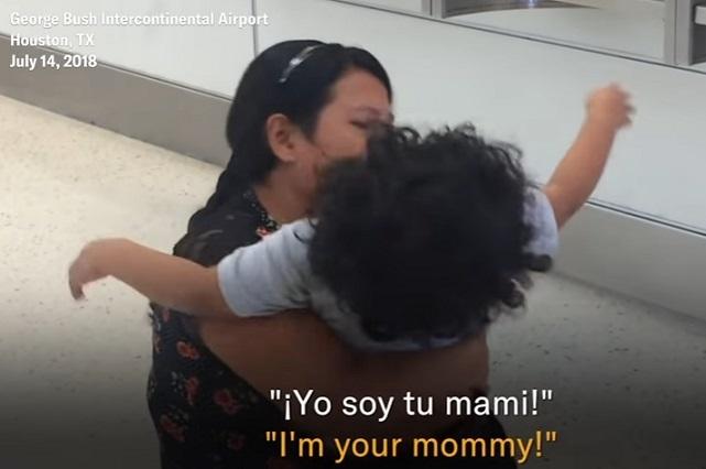 Sammy, el niño migrante que la tolerancia cero le hizo esto