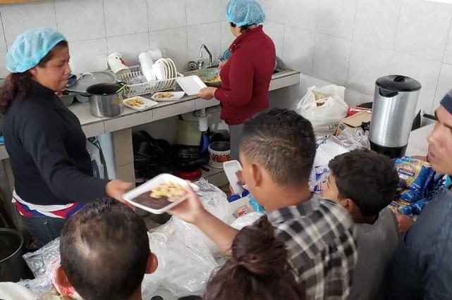 Casi mil migrantes fueron atendidos el fin de semana: SGG