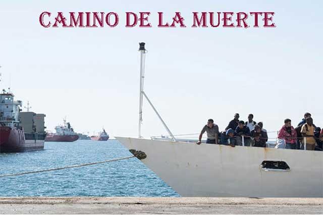 La muerte acecha a miles de migrantes en el mar
