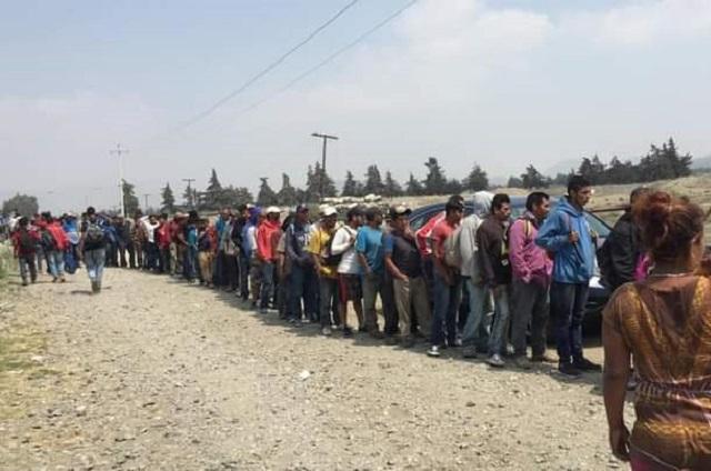 Aumentan migrantes en la zona de Esperanza y Ciudad Serdán