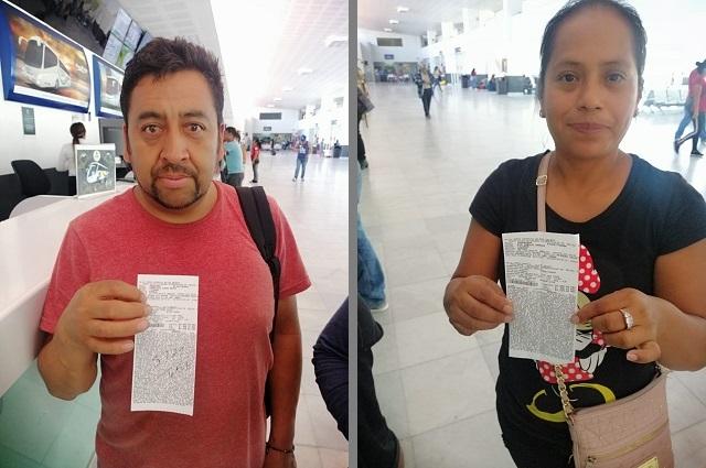Apoya SEGOB en su retorno a 22 migrantes poblanos
