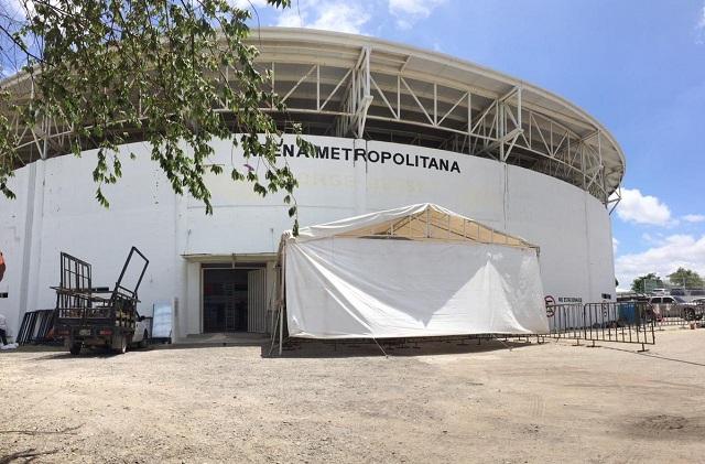 Instalan albergue temporal en Chiapas para atender a migrantes