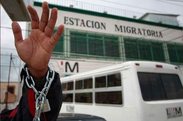 Ubican a 31 migrantes centroamericanos en hotel de la CAPU