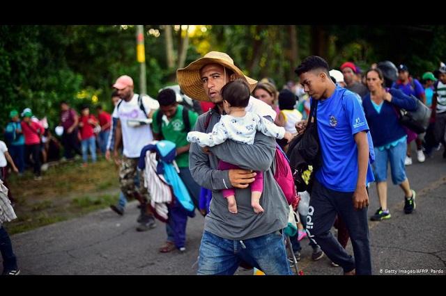 Guardia Nacional y Marina cuidan frontera en Chiapas ante caravana