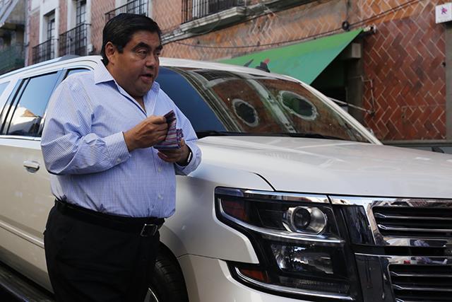 RMV y su grupo político operarán para Meade en Puebla: Barbosa