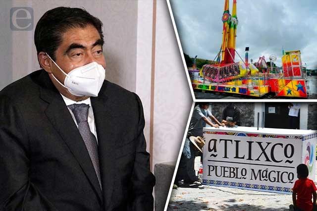 Cerrar acceso a Atlixco por causa del covid, ilegal: Barbosa