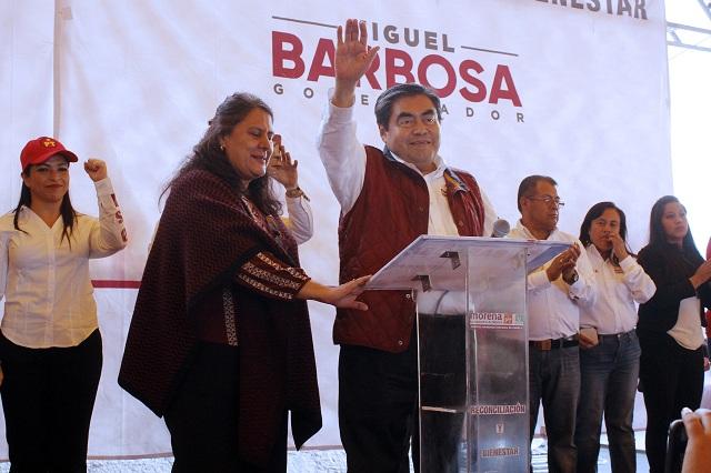 Me quieren descarrilar pero fracasarán: Luis Miguel Barbosa