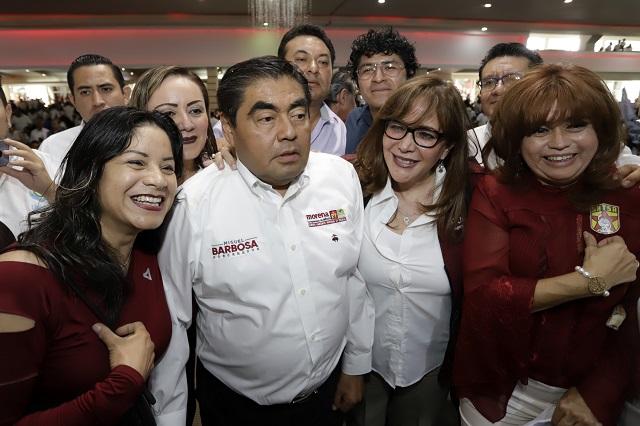 Promete Barbosa freno a la corrupción en el sector salud