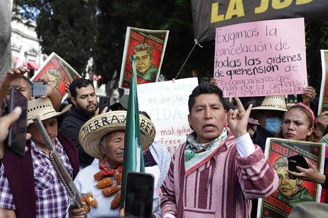 Temen más detenciones opositores a colector de Huejotzingo