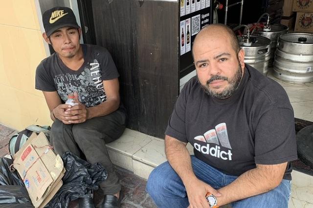 Encuentran a Miguel, el joven que vivía bajo puente que colapsó