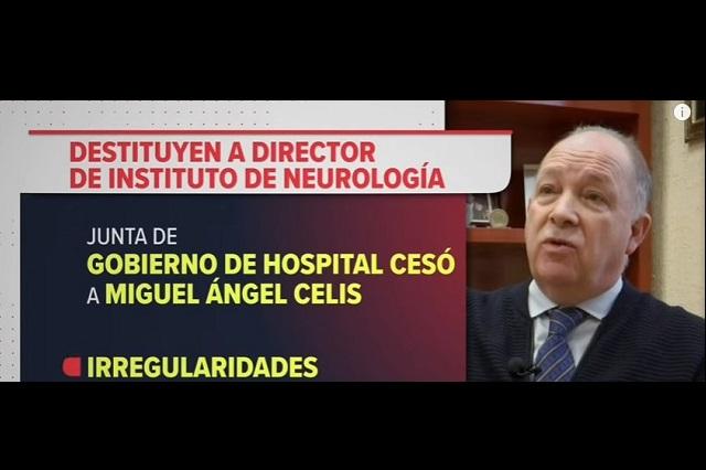 Es una injusticia, dice Narro del despido del director de Neurología