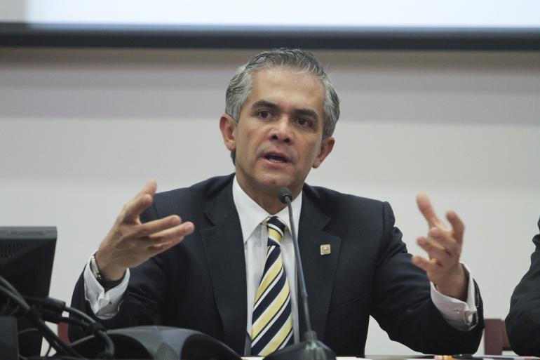 Mancera se dice listo ante impugnaciones contra postulación al Senado