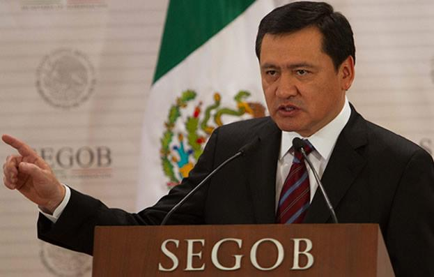Osorio Chong exhorta a estados a garantizar gobernabilidad en 2018