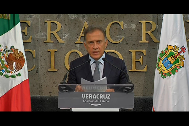 Sentencia a Javier Duarte, parece un perdón, dice Yunes