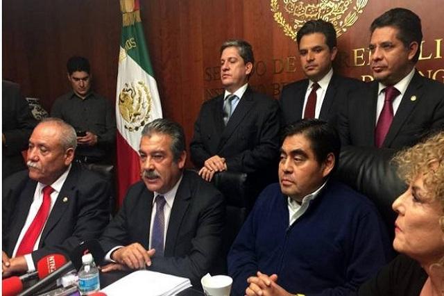 Grupo de Barbosa tendrá más senadores que la bancada perredista