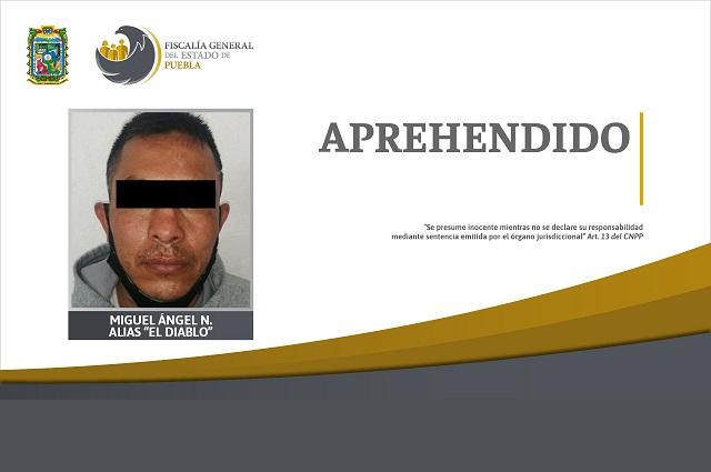 Cae El Diablo por intentar matar a ex militar en Puebla