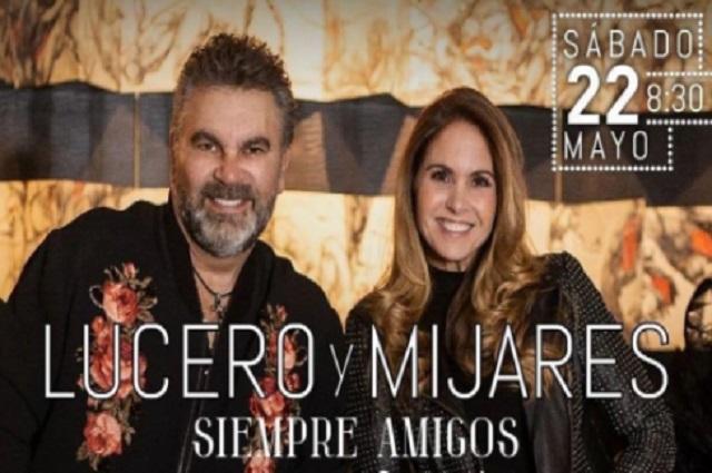 Lucero y Mijares anuncian que darán un concierto juntos