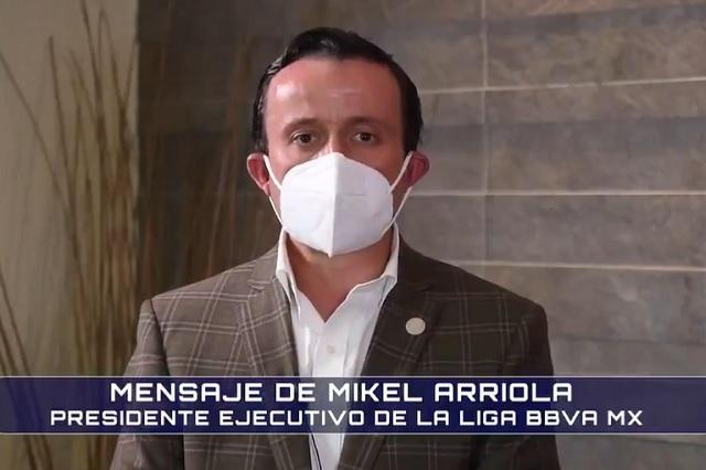 Sin igualdad de condiciones, México no regresará a Copa Libertadores: Arriola