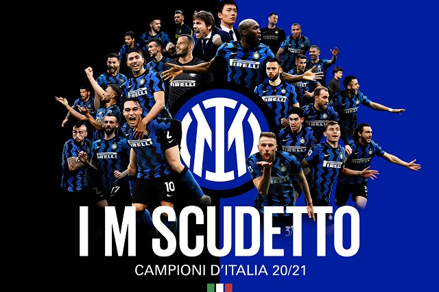 Inter de Milán rompe hegemonía de Juventus y es nuevo campeón de Italia