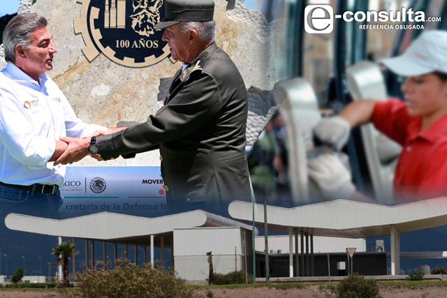 Arranca a mediados de 2018 la industria militar en La Célula